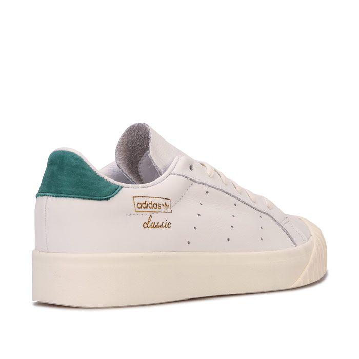 Women's adidas Originals Everyn Trainers in White Green