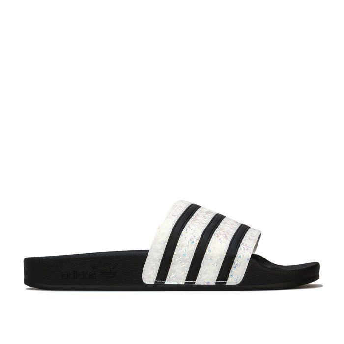 Women's adidas Originals Adilette Slide Sandals in Black