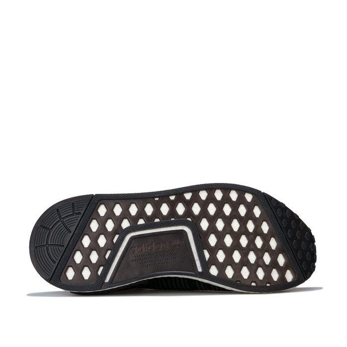 Women's adidas Originals NMD_R1 Primeknit Trainers in Black