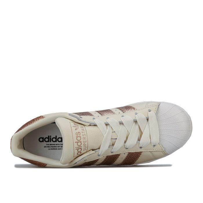 Women's adidas Originals Superstar Trainers in Off White