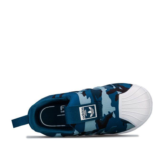 Boy's adidas Originals Infant Superstar 360 Trainers in Navy