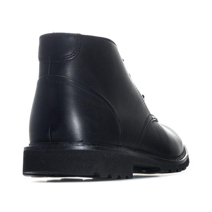 Men's Rockport Sharp & Ready Chukka Boot in Black