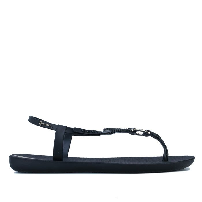 Women's Ipanema Charm Link Sandals in Black