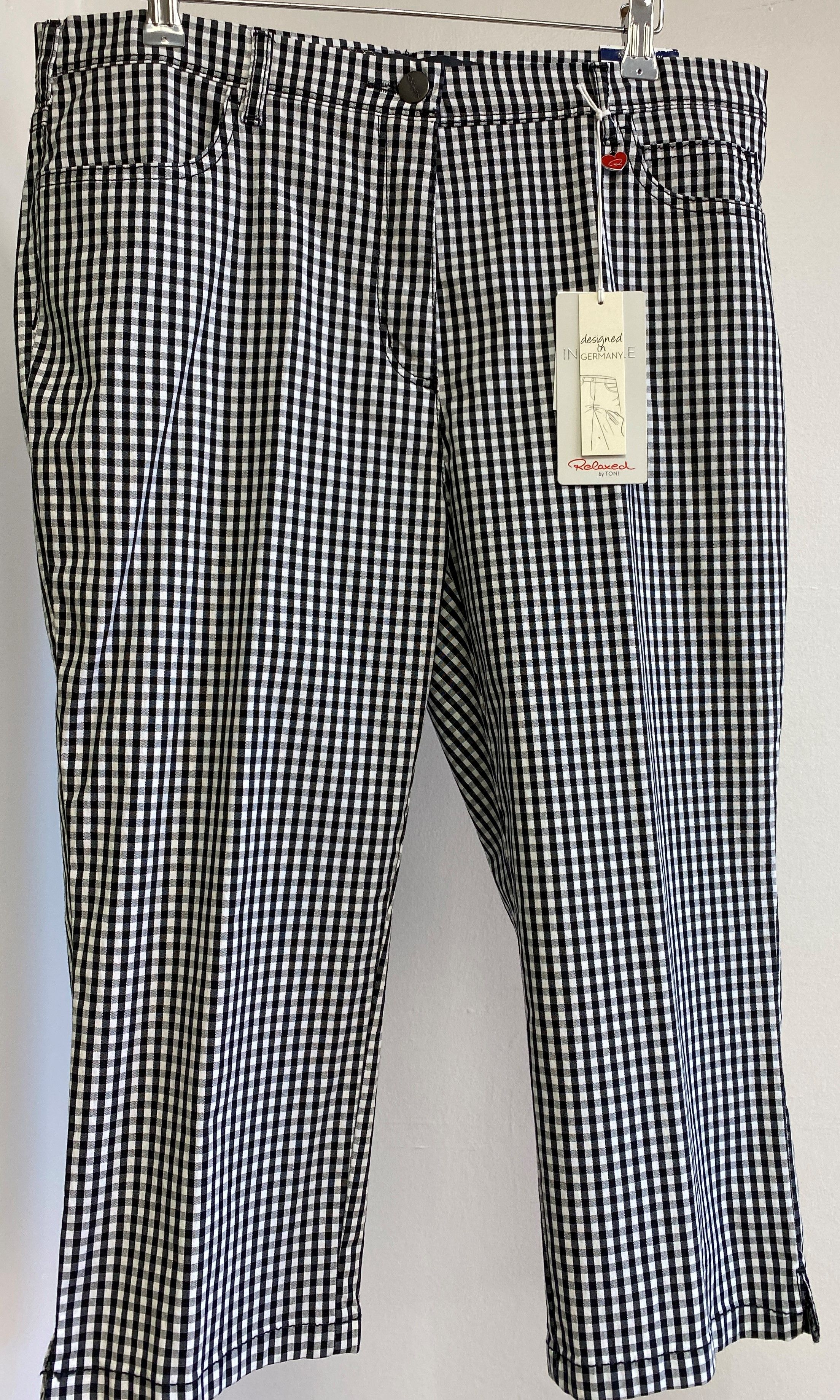 Checked Cropped Trouser