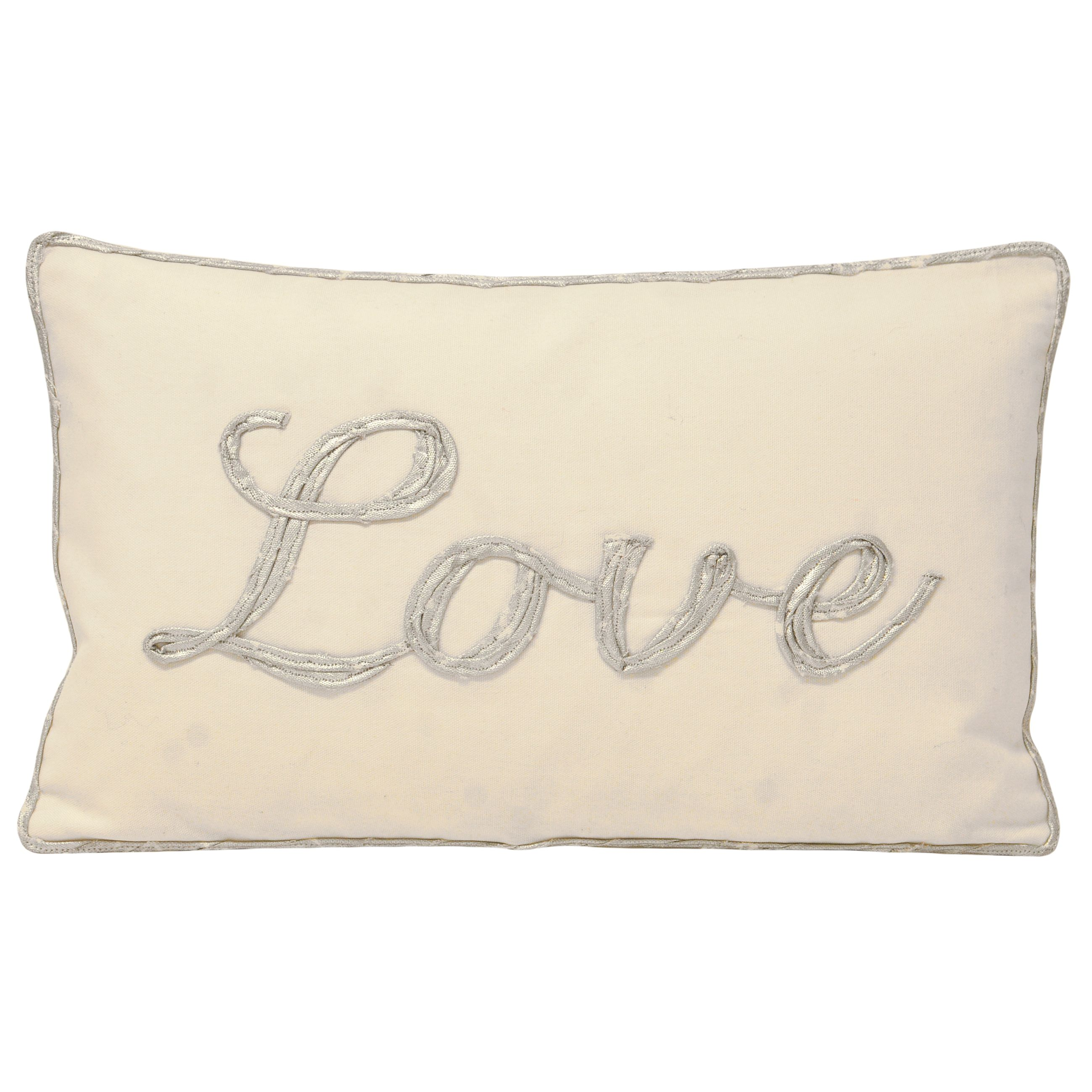 Christmas Tide Love Polyester Filled Cushion