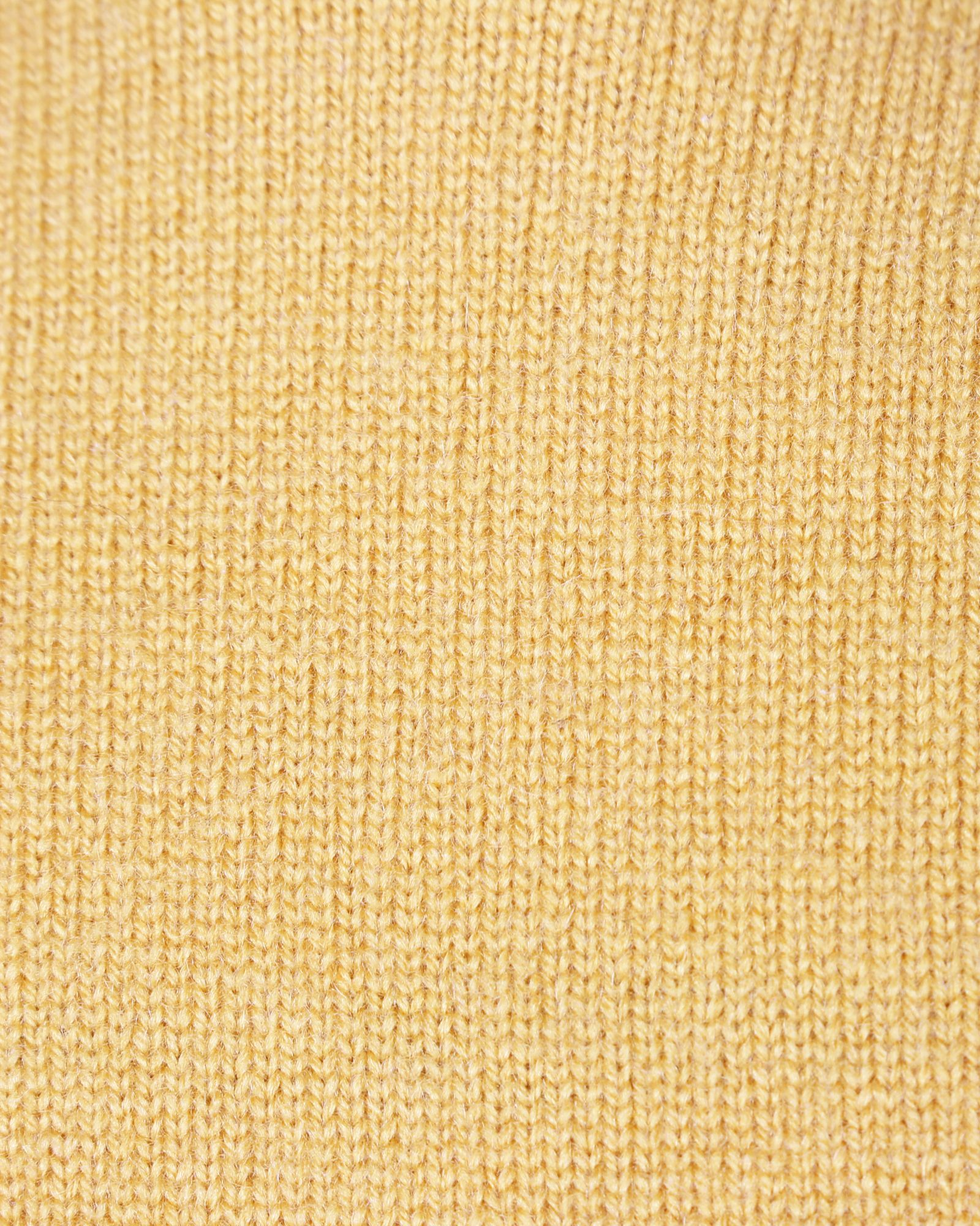 Hermès Sleeveless Yellow Cashmere Top With Side Zipper -Pre Owned Condition Excellent