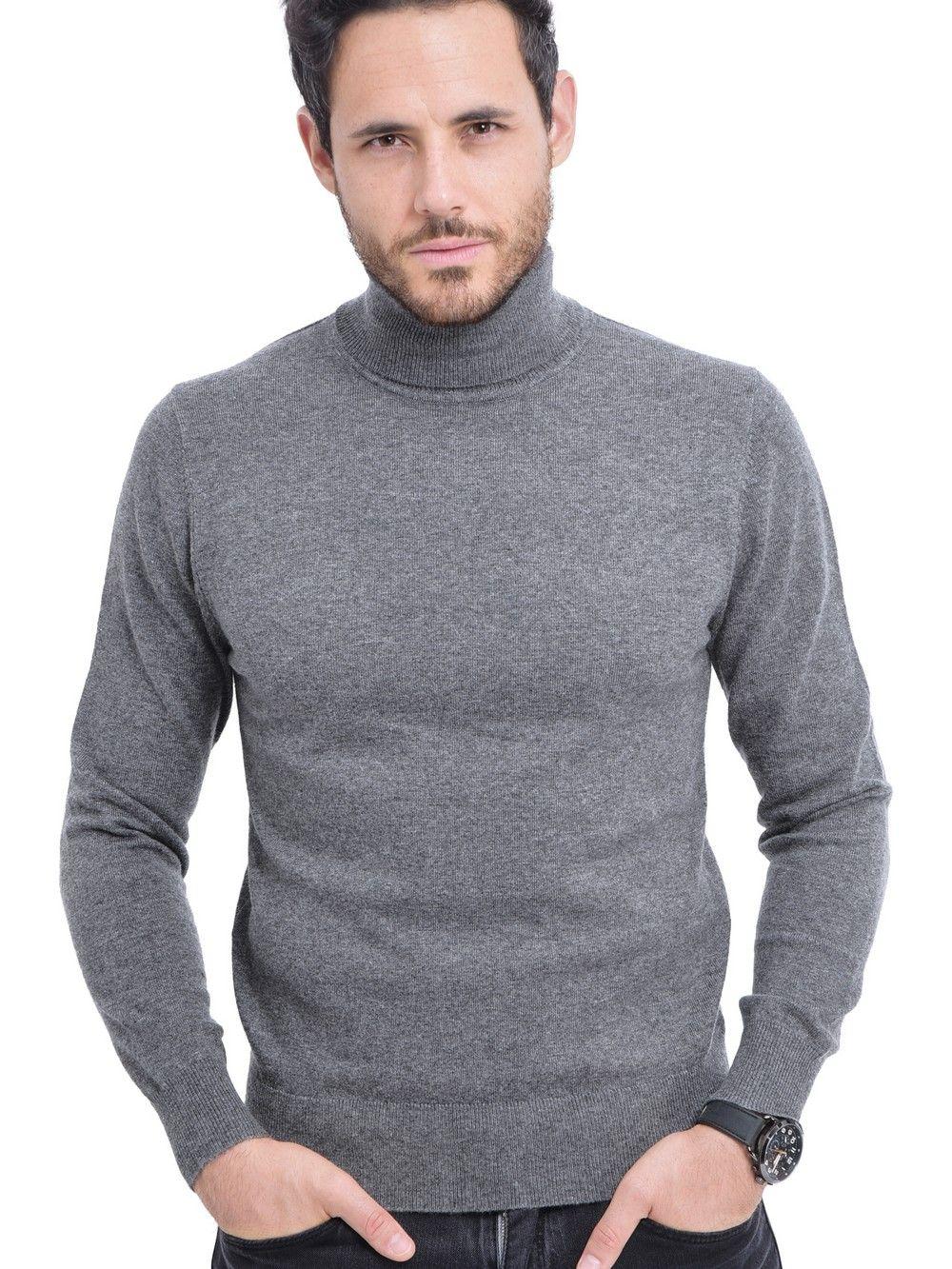 C&JO Turtleneck Sweater in Grey
