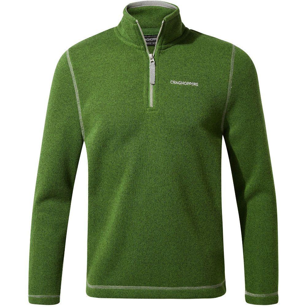 Craghoppers Boys Salvador Half Zip Hooded Fleece Jacket