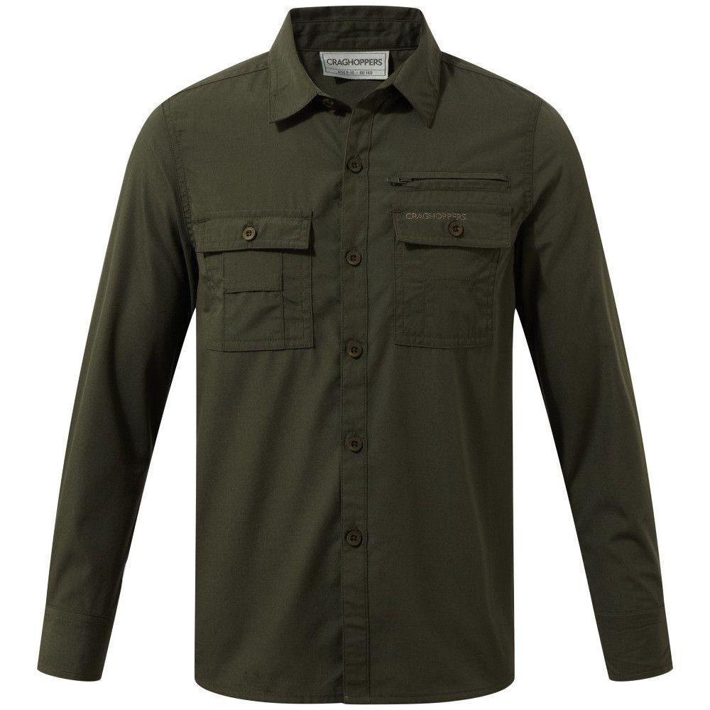 Craghoppers Boys Adventure Trek Durable Long Sleeved Shirt