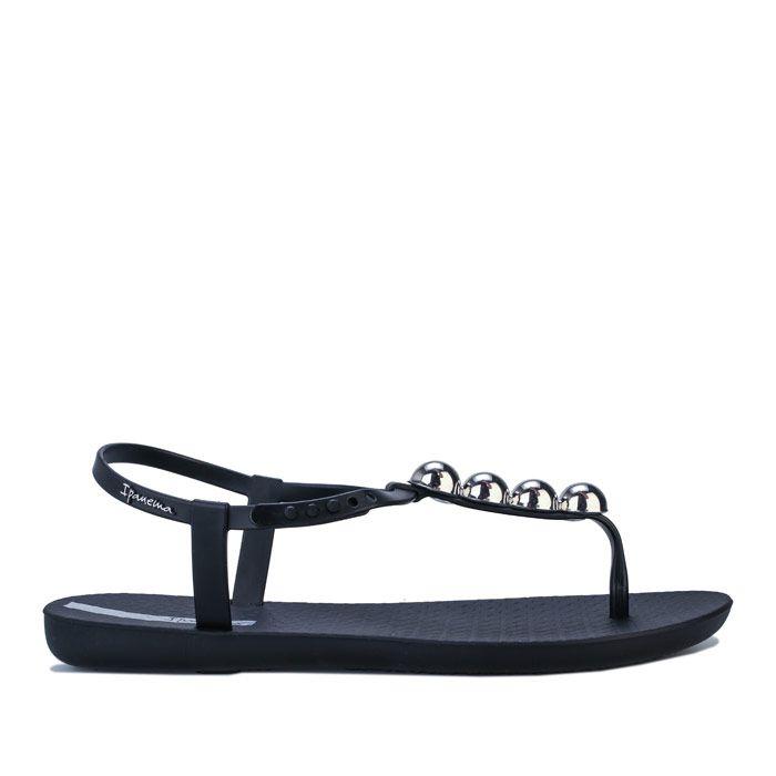 Women's Ipanema Class Pebble Sandals in Black