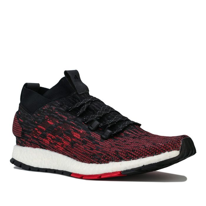 Men's adidas Pureboost RBL Running Trainers in Black