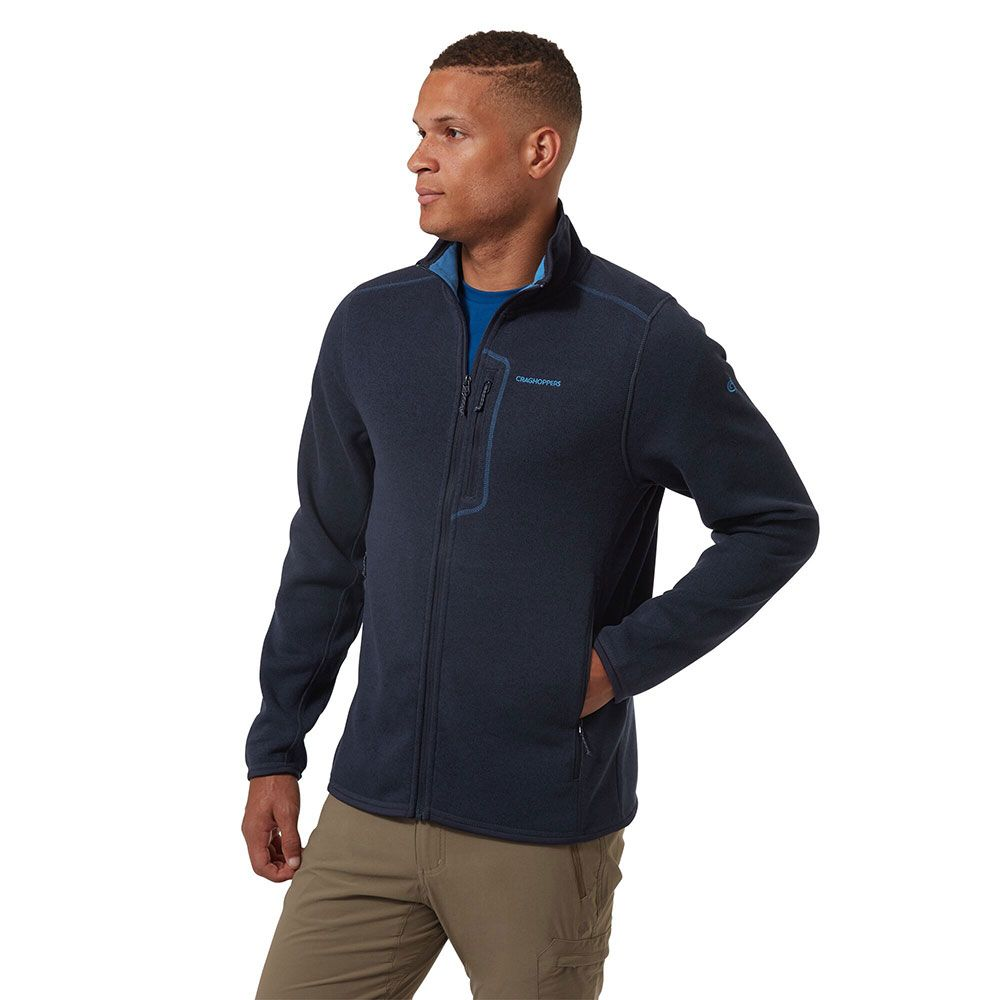 Craghoppers Mens Bronto Zip Pocket Fleece Jacket