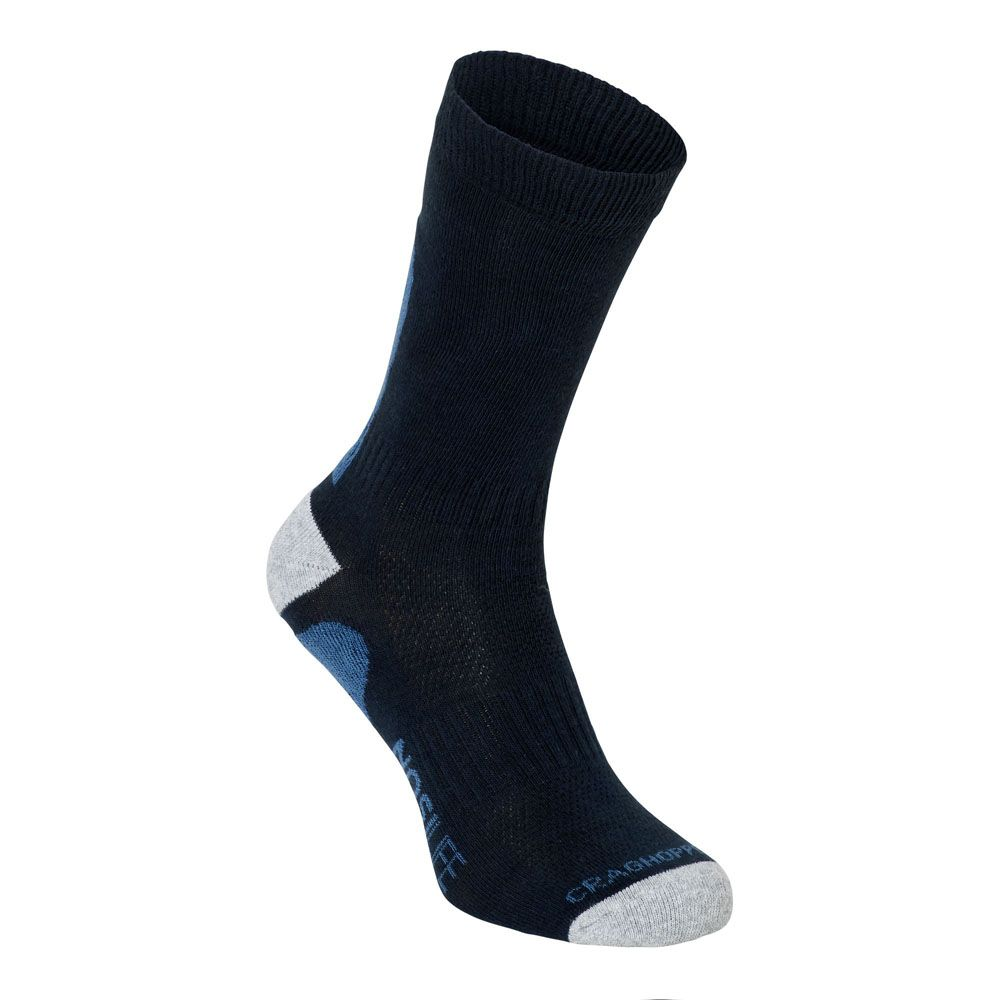 Craghoppers Mens NosiLife Advent Cushioned Insect-Repellent Socks