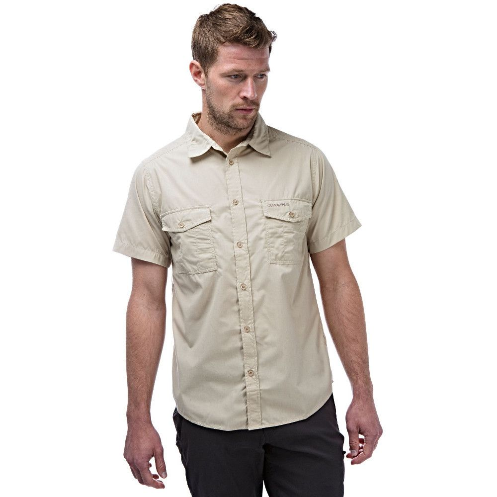 Craghoppers Mens Kiwi Quick Drying Short Sleeve Travel Shirt