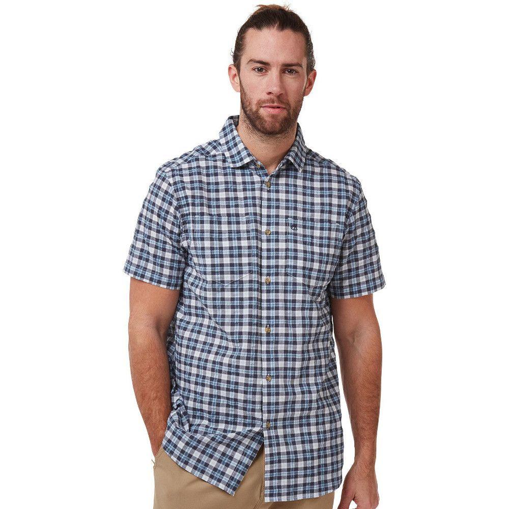 Craghoppers Mens Pele Lightweight Relaxed Short Sleeve Shirt
