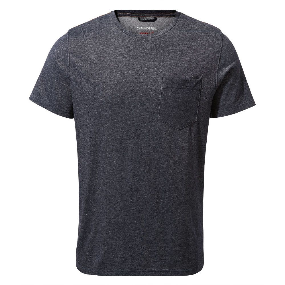 Craghoppers Mens NosiLife Ina Relaxed Fit Short Sleeve Top