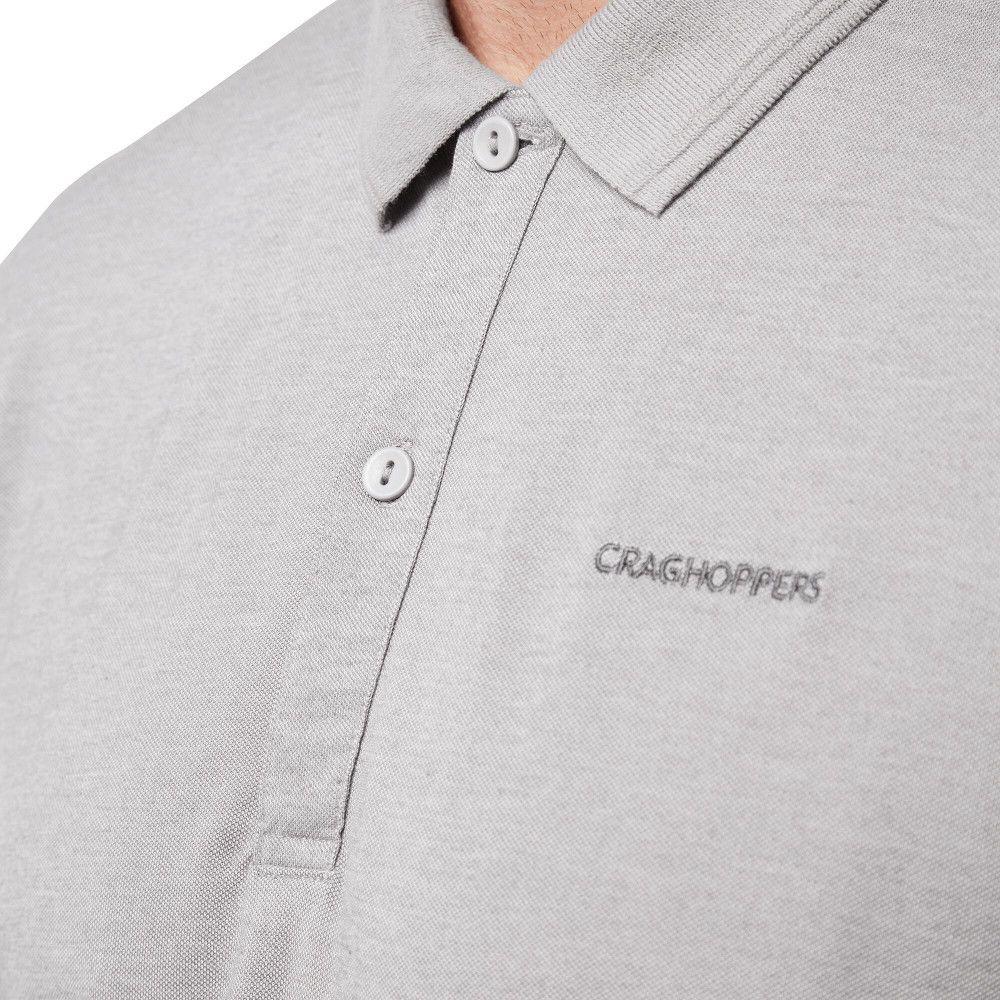 Craghoppers Mens NosiLife Mani Short Sleeve Polo Shirt