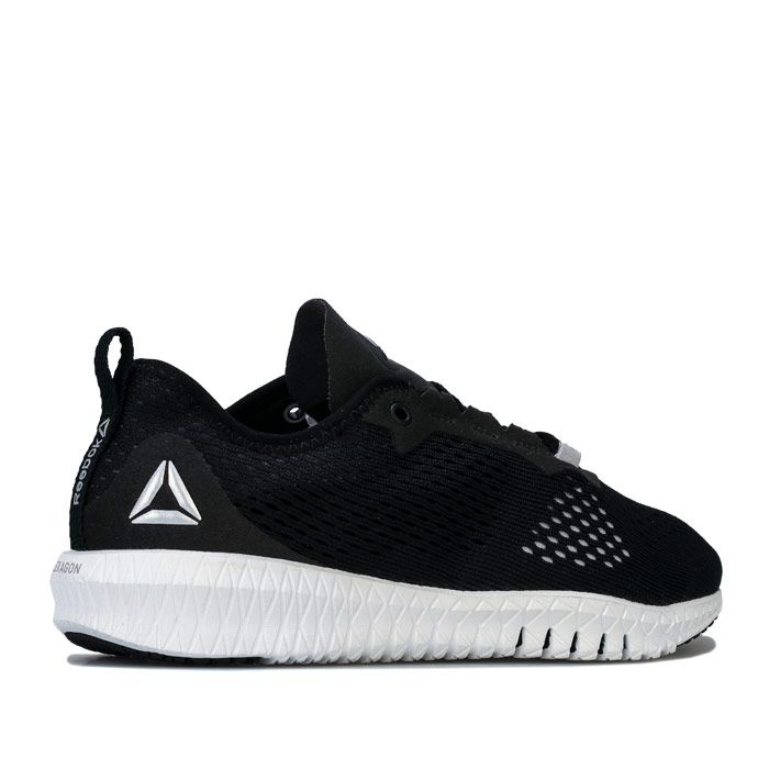 Women's Reebok Flexagon Training Shoes in Black-White