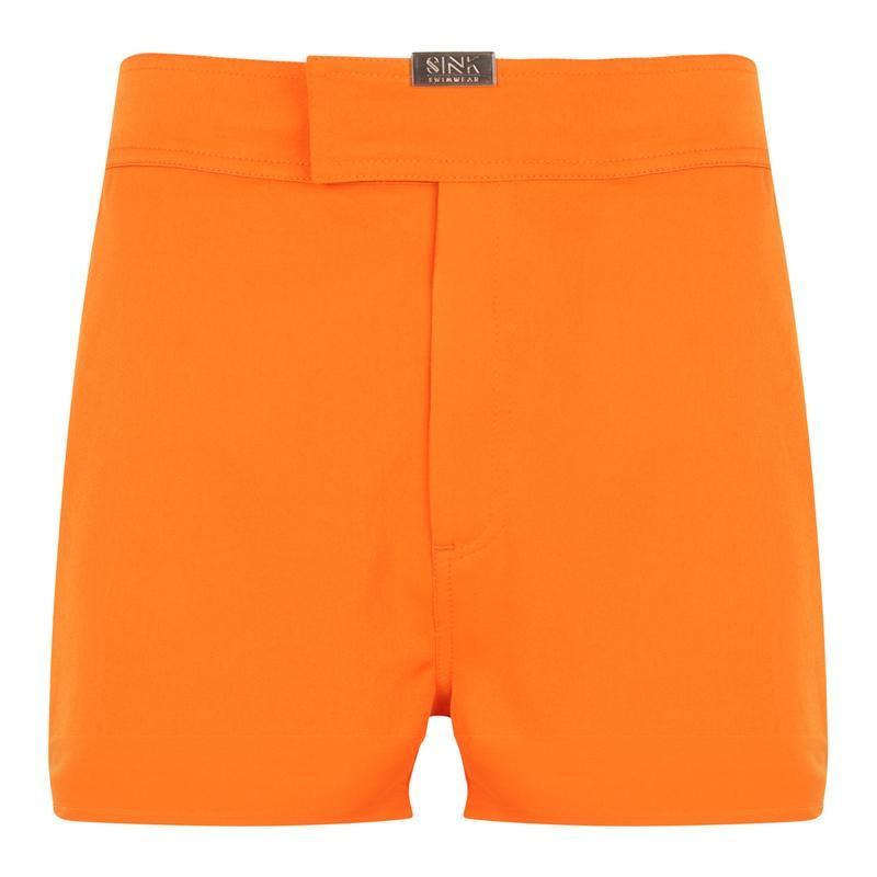 Tailored Coral Reef Orange Swim Shorts