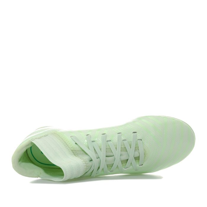 Boy's adidas Junior NEMEZIZ 17.3 FG Football Boots in Green