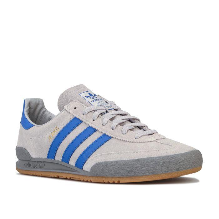 Men's adidas Originals Jeans Trainers in Grey blue