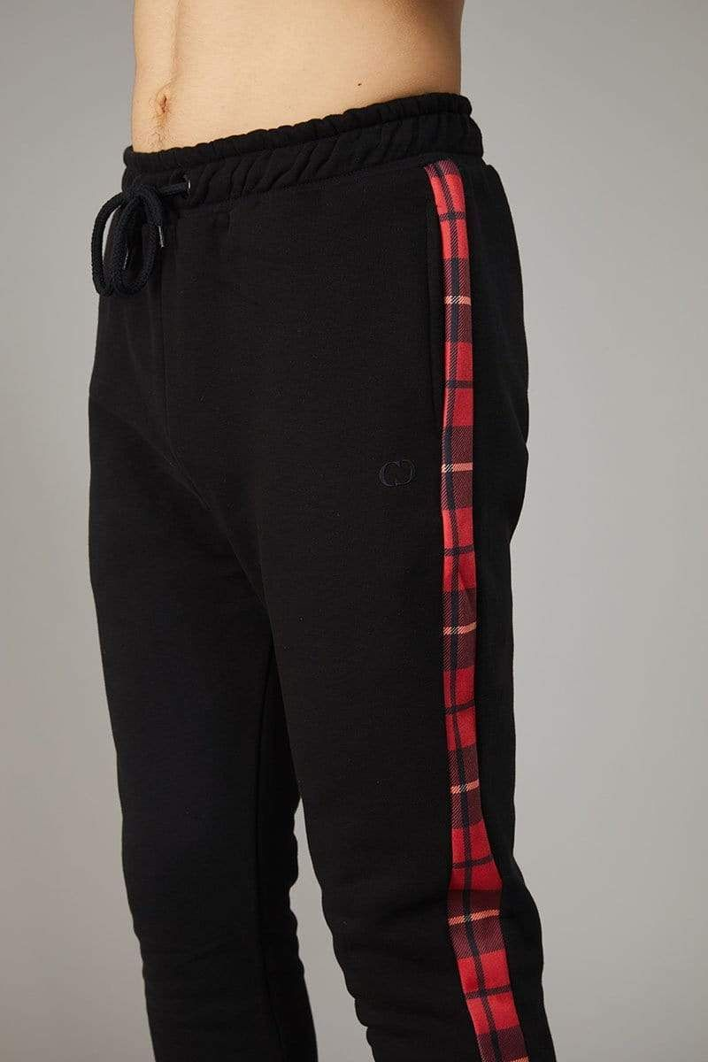 Red Check Globe Joggers