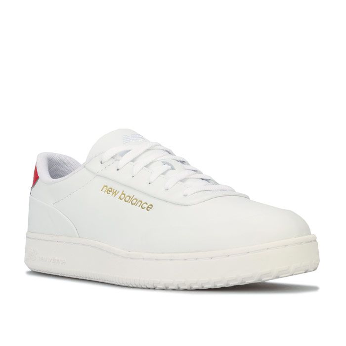 Men's New Balance CT Alley Trainers in White red
