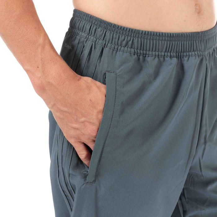 Men's adidas Condivo 18 Woven Pants in Grey orange