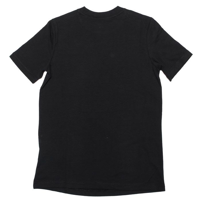 Women's adidas Originals Trefoil T-Shirt in Black-White
