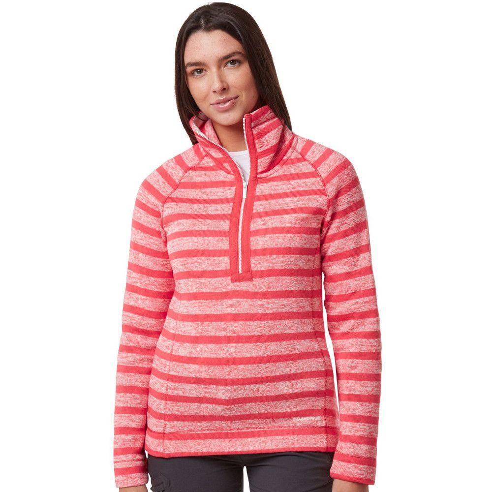 Craghoppers Womens Alphia Insualted Half Zip Fleece Jacket
