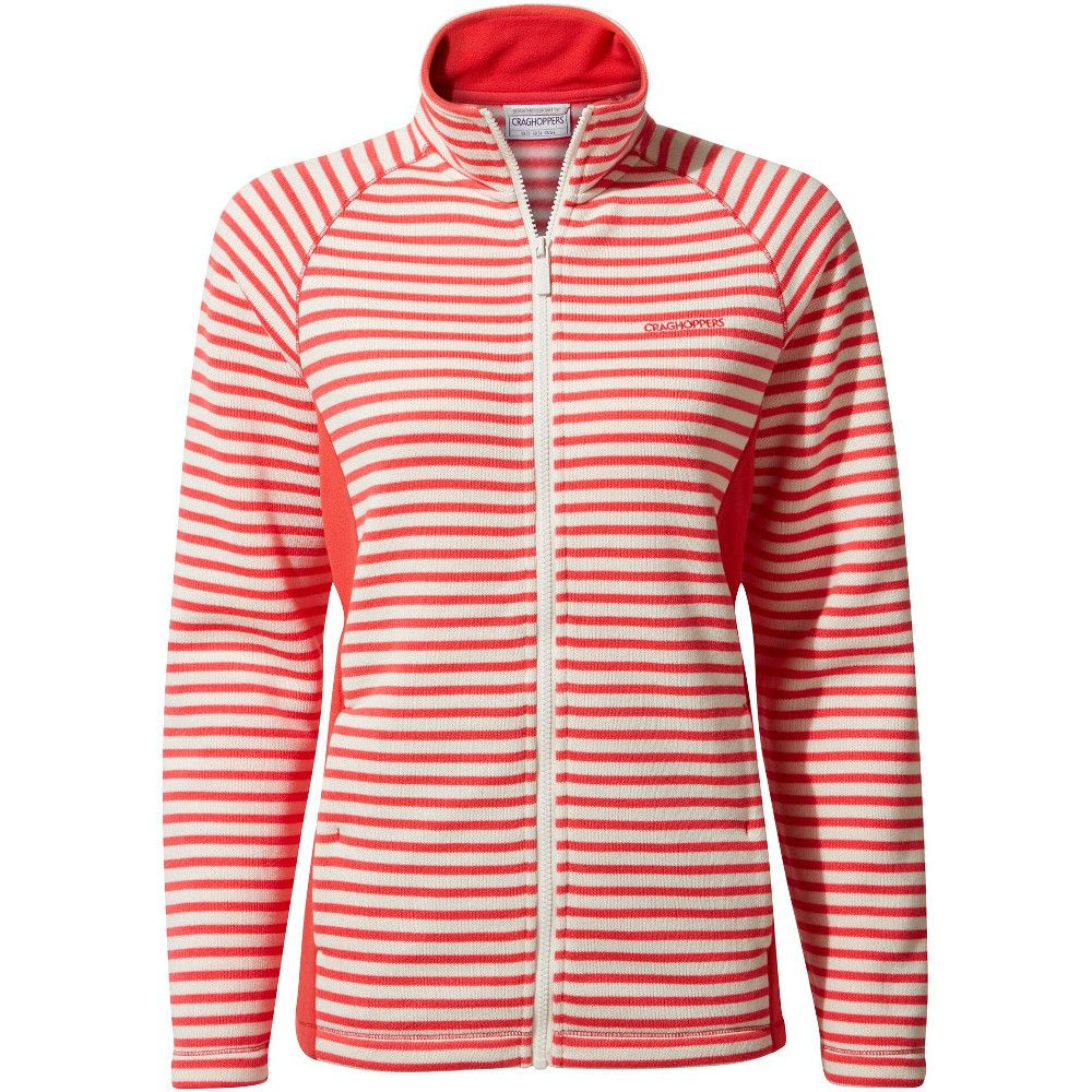 Craghoppers Womens Aisha Relaxed Fit Full Zip Fleece Jacket