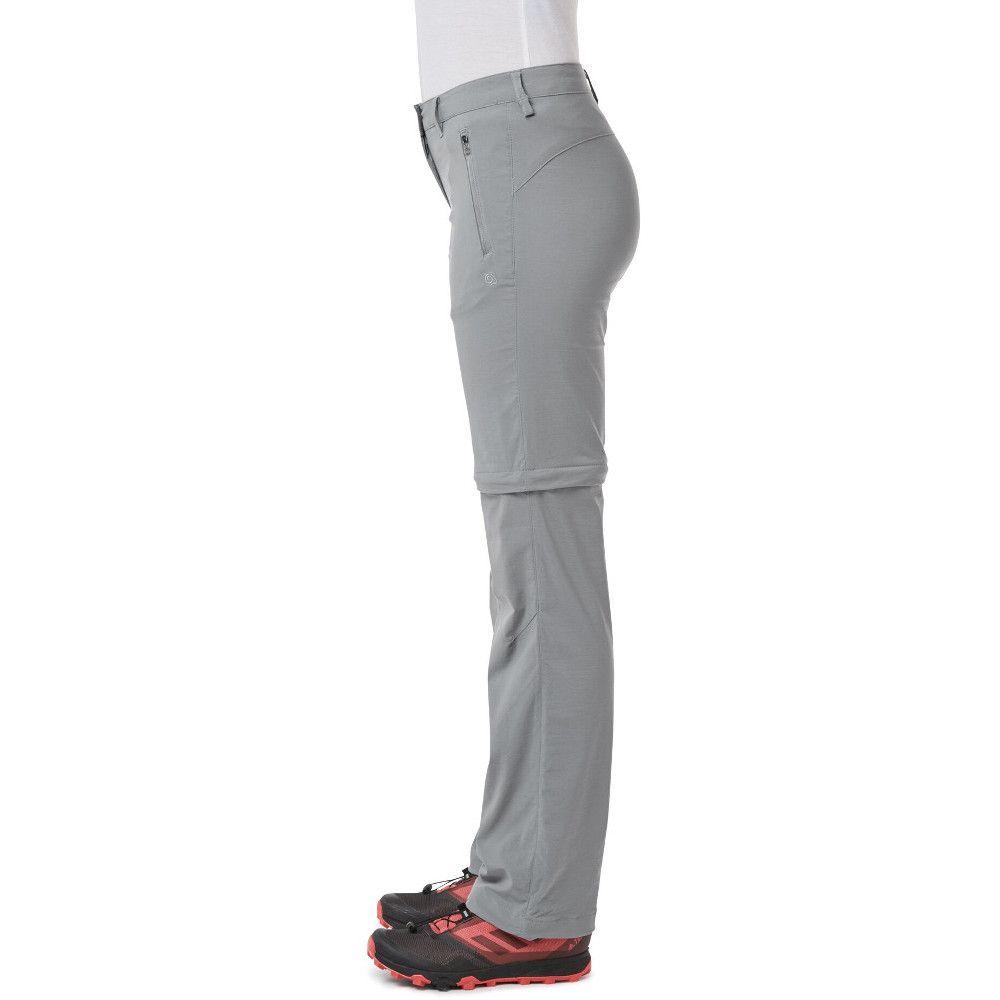Craghoppers Womens Nosi Life Pro Convertible Zip Off Pants