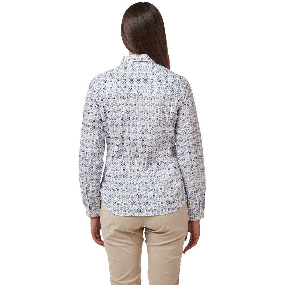 Craghoppers Womens Kiwi Quick Drying Long Sleeve Shirt