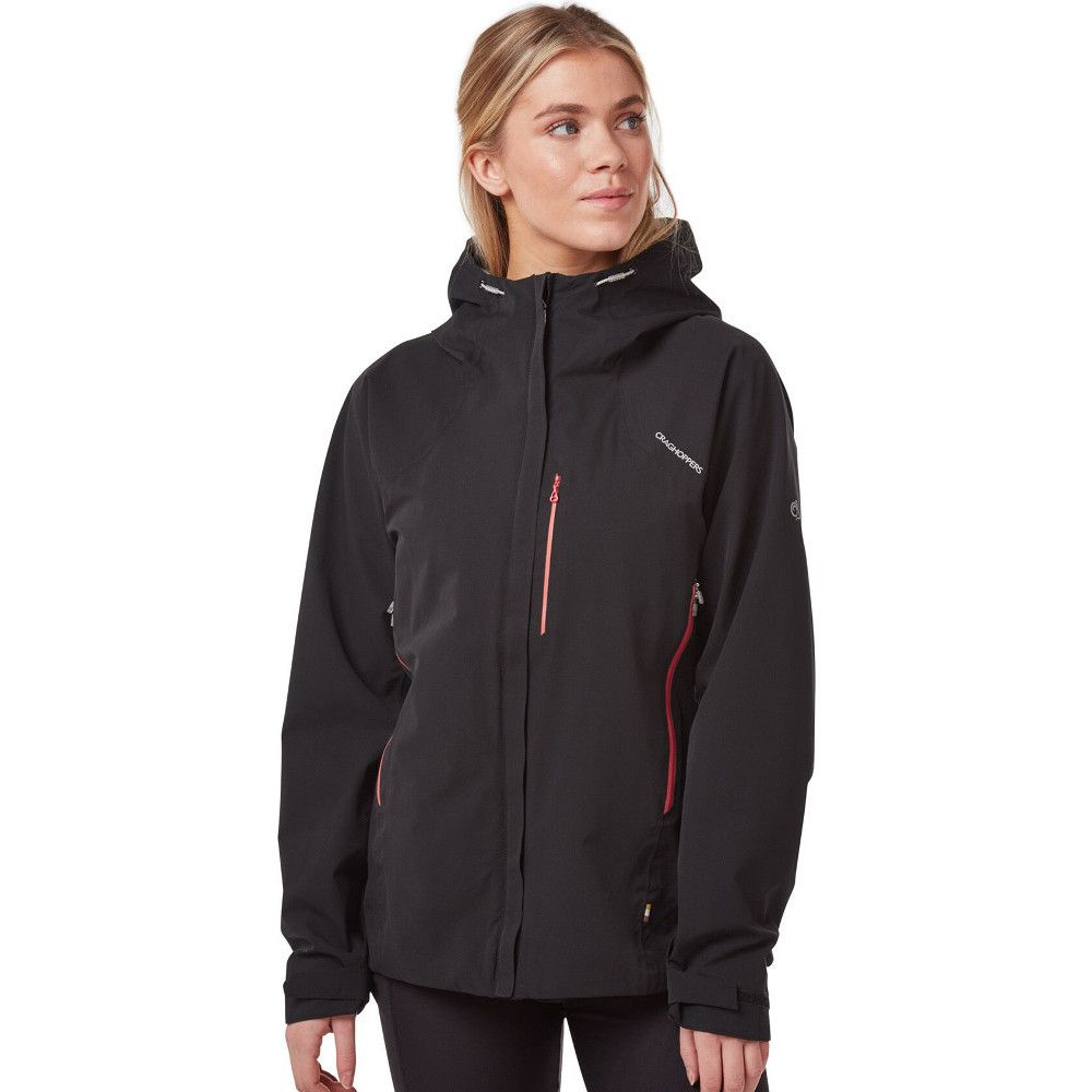 Craghoppers Womens Explore Hooded Waterproof Coat