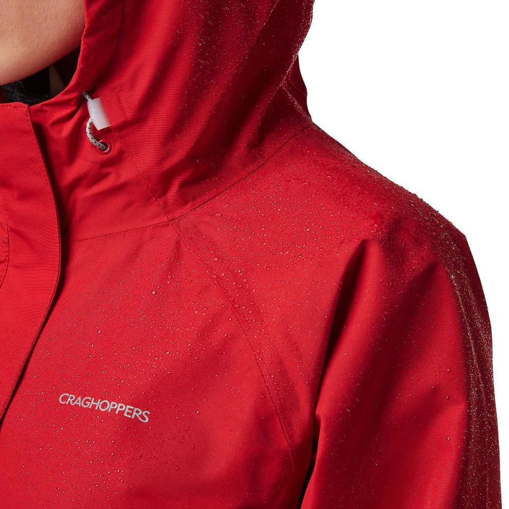 Craghoppers Womens Orion Waterproof Breathable Hooded Coat