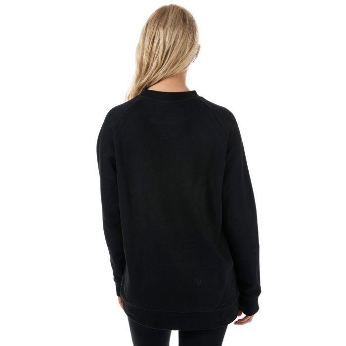 Women's adidas Originals Trefoil Oversize Sweatshirt in Black