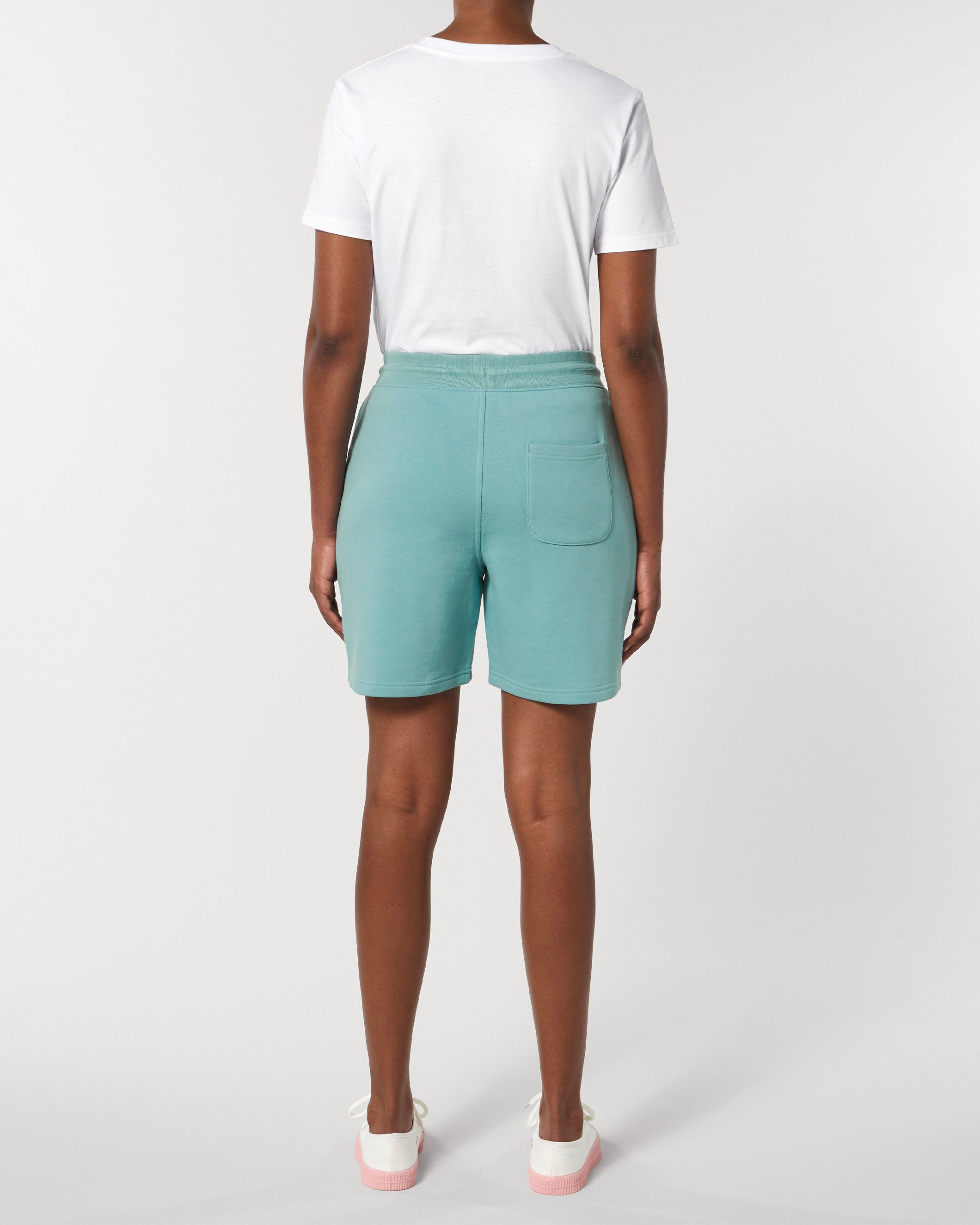 Vayu Unisex Jogger Shorts in Teal