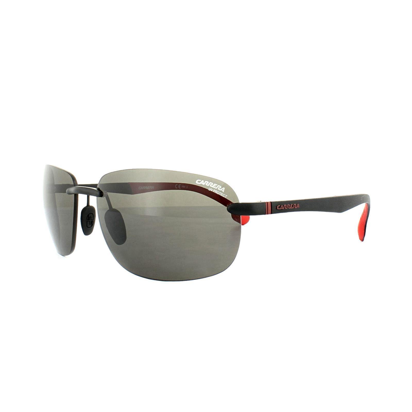 Carrera Sunglasses Carrera 4010/S BLX IR Matt Black & Red Dark Grey