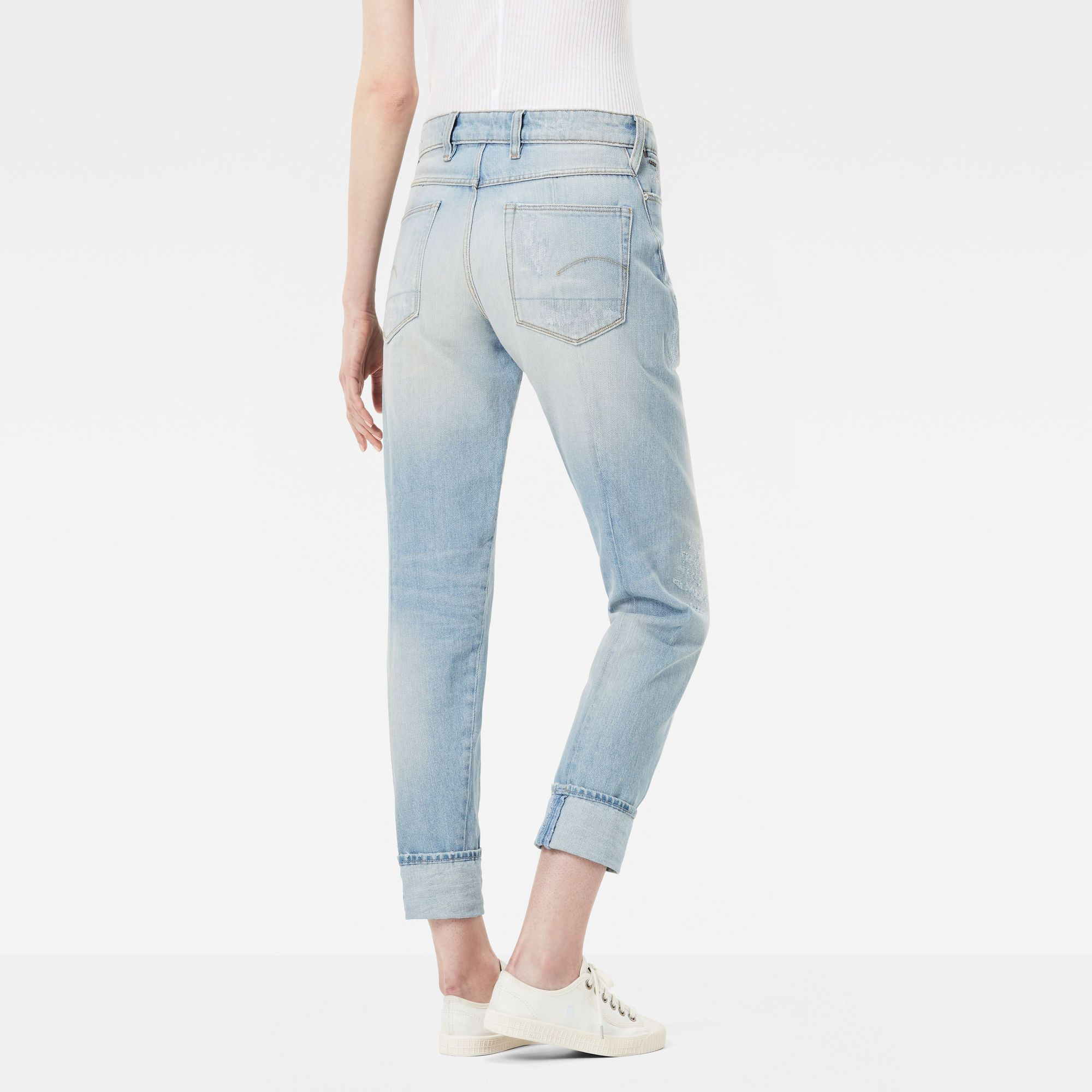 G-Star RAW Lanc 3D High Waist Straight Jeans