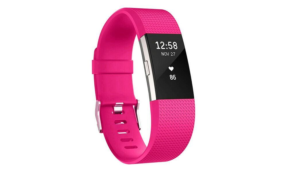 Aquarius Fitbit Charge 2 Classic Replacement Straps Hot Pink