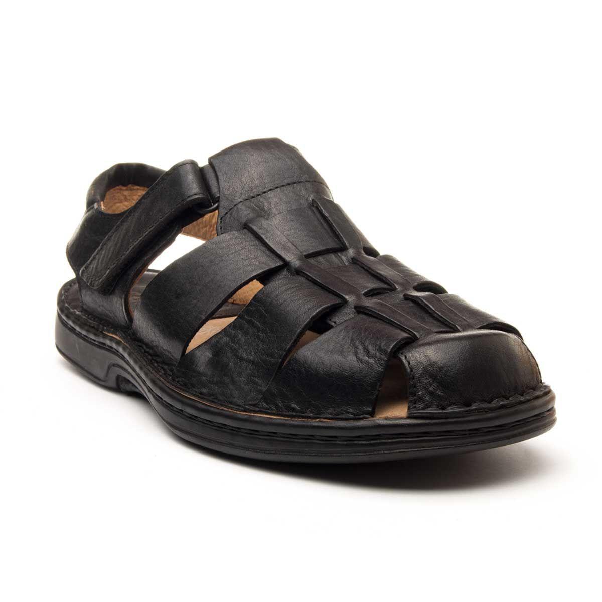 Purapiel Comfortable Sandal in Black