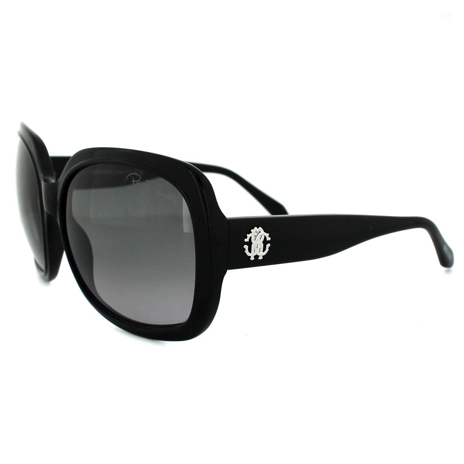 Roberto Cavalli Sunglasses Male 729 01B Black Grey Gradient