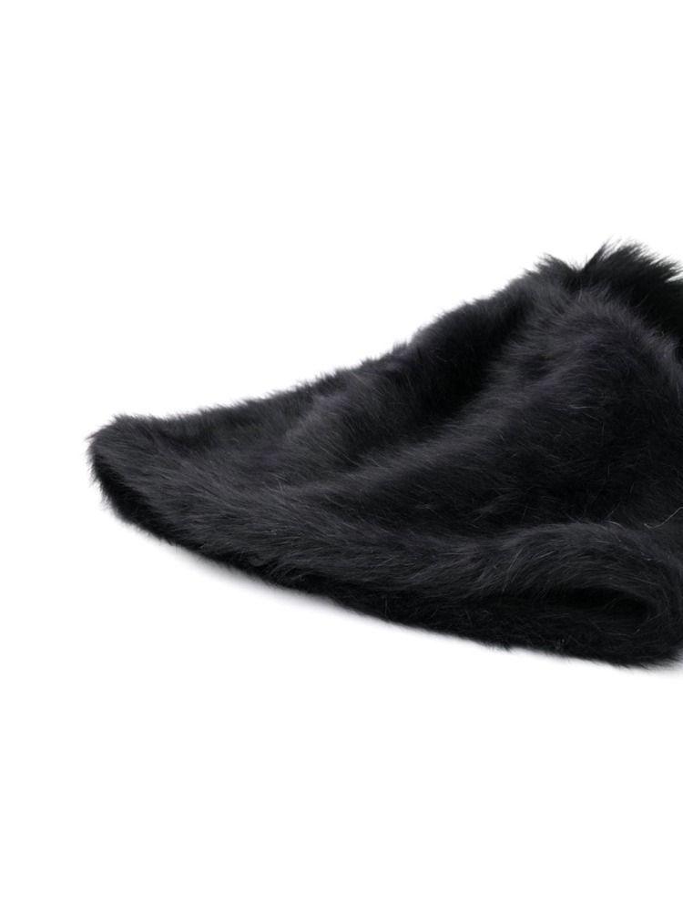 MAX MARA WOMEN'S 45760993000005 BLACK WOOL HAT