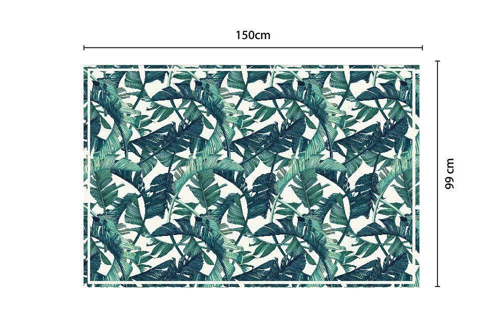 Banana Leafs Pattern Mat 150 x 99 cm Floor Mats, Floor Rugs