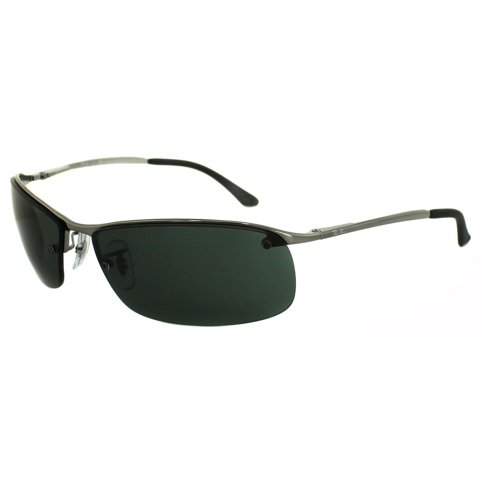 Ray-Ban Sunglasses 3183 004 71 Gunmetal Green