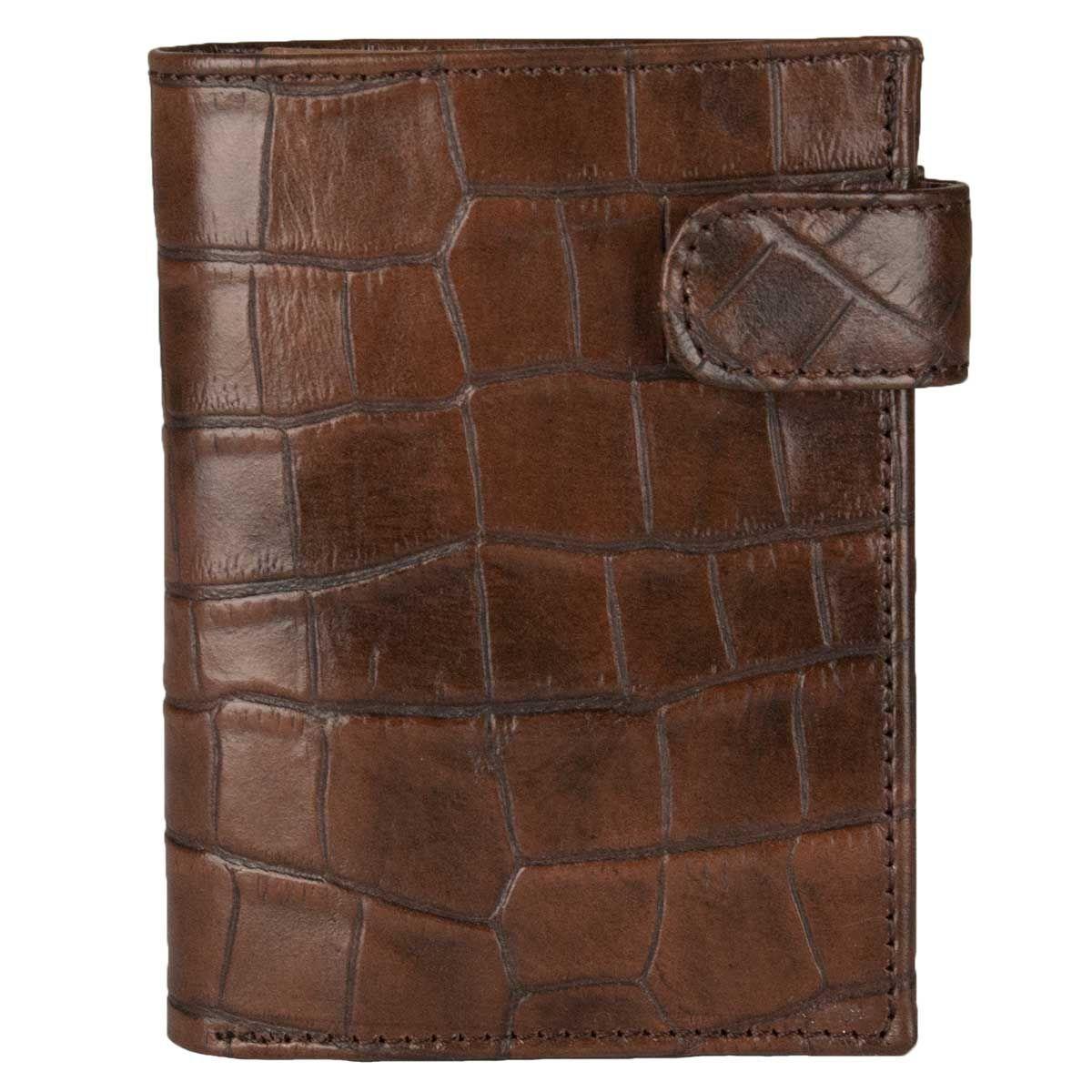 Montevita Leather Wallet in Brown