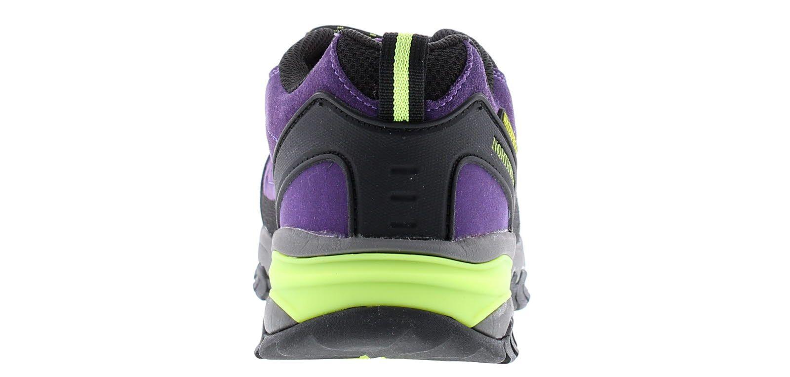 Northwest Territory keele lo leather Womens Waterproof Walking Boots purple