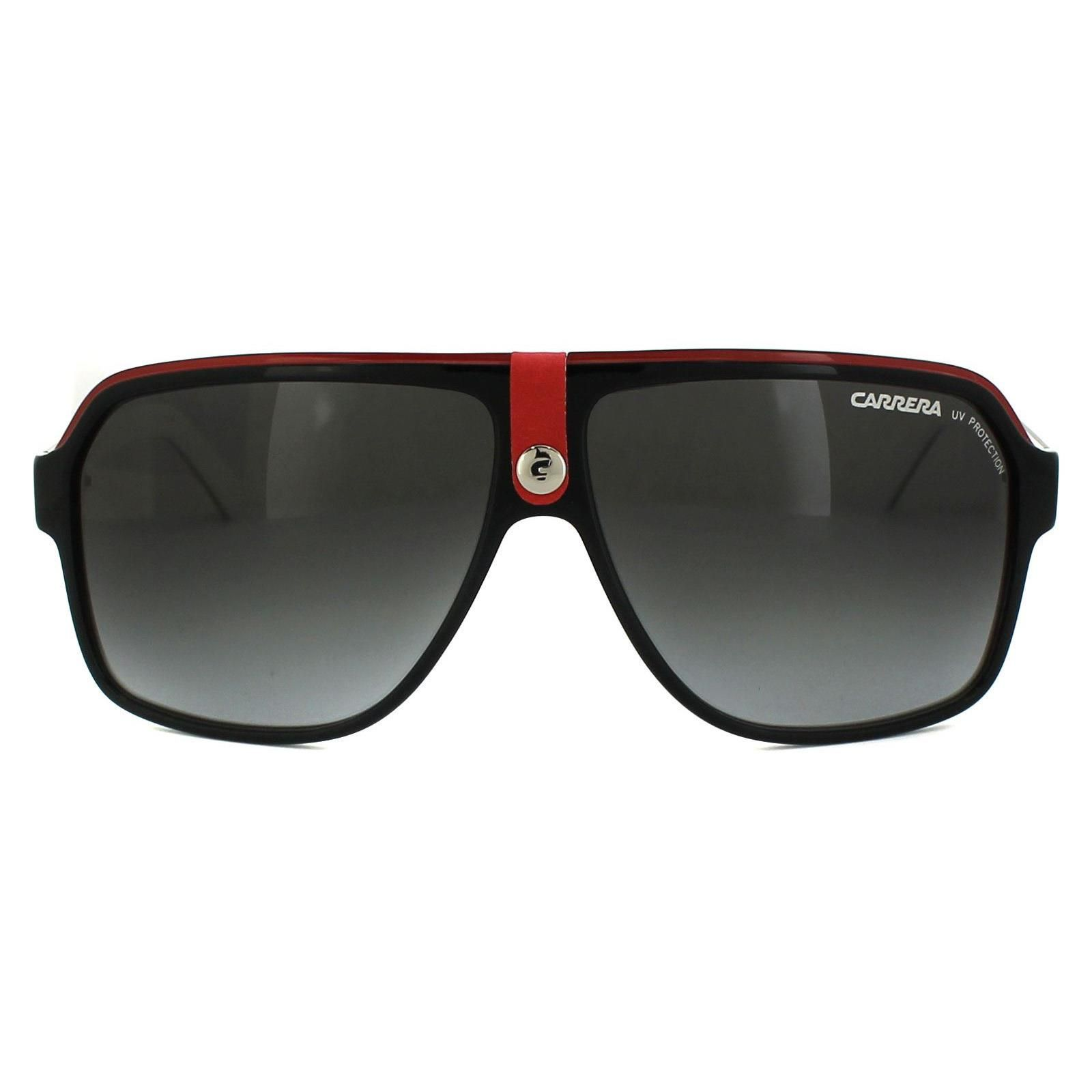 Carrera Sunglasses Carrera 33 8V4 PT Black & White Black Gradient