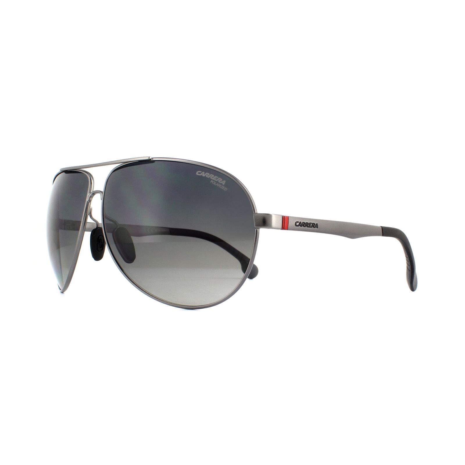 Carrera Sunglasses Carrera 8023 R80 WJ Dark Ruthenium Grey Gradient Polarized