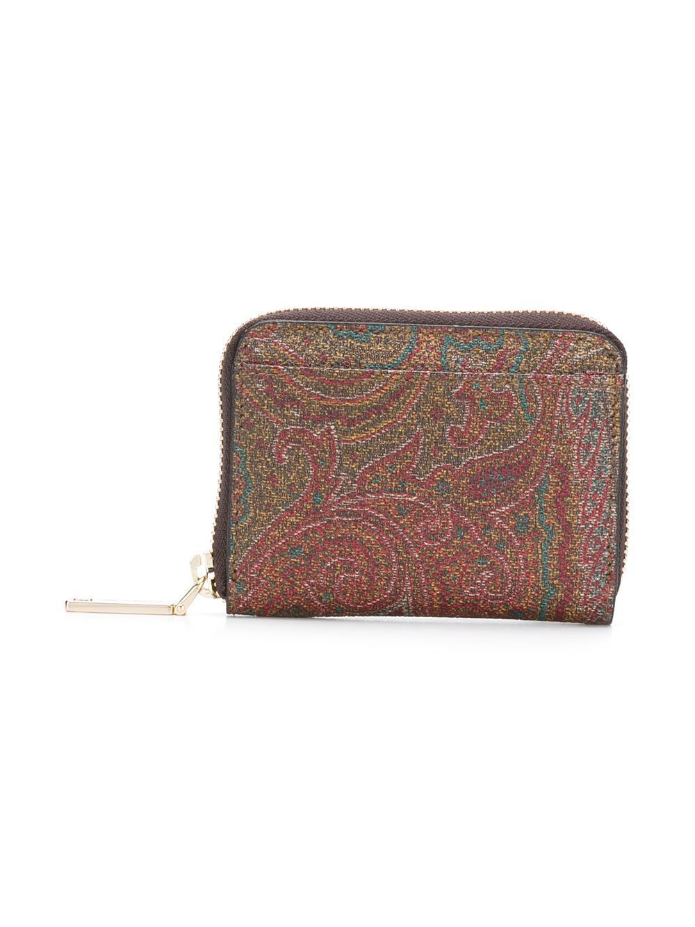 ETRO MEN'S 0H6848010600 MULTICOLOR LEATHER WALLET
